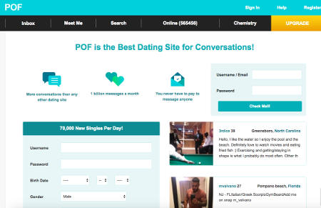 Which is the first free dating site in usa
